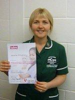 Jennifer O'Connor - feline friendly nursing certificate.