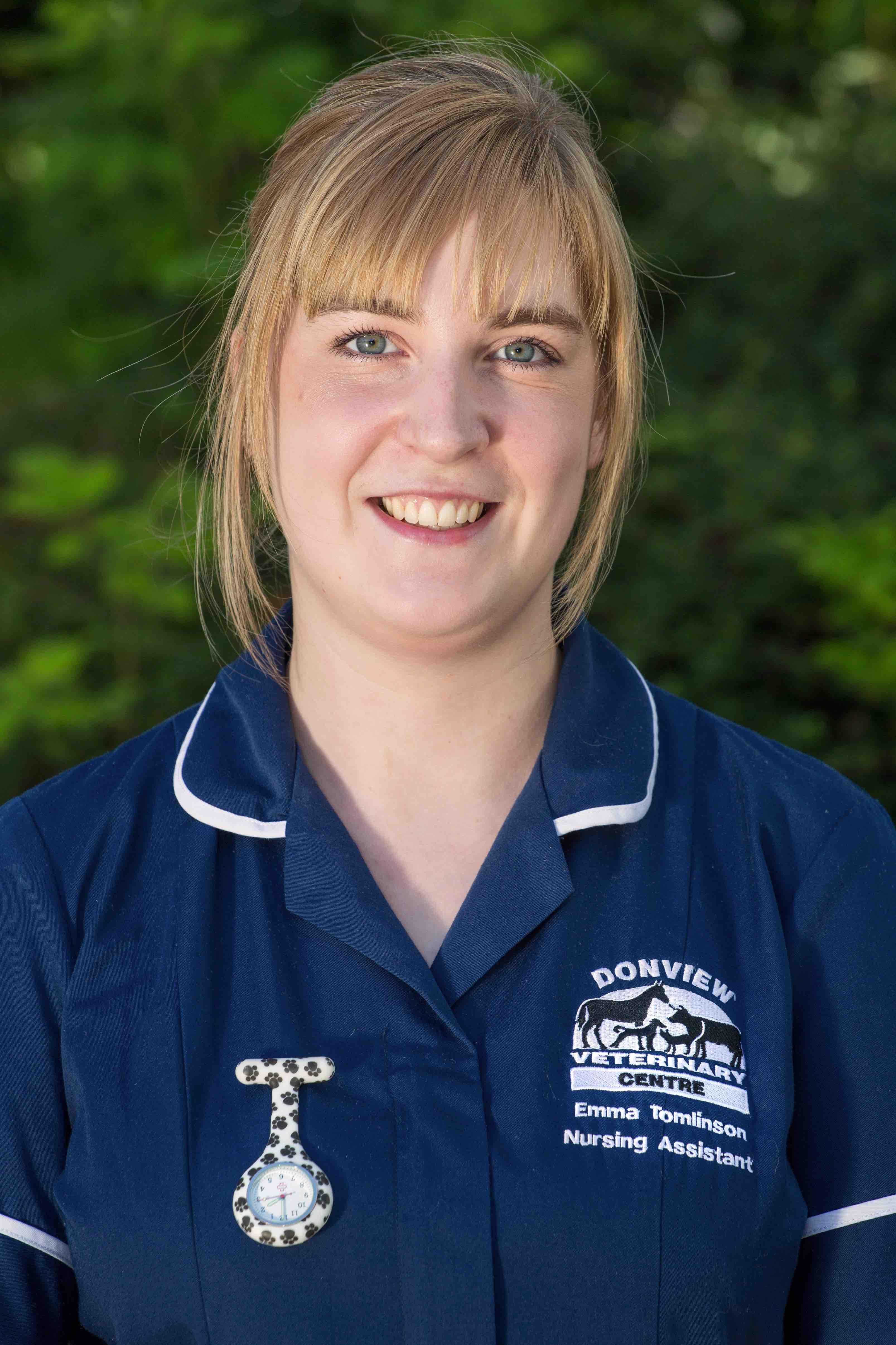 Emma Tomlinson nurse