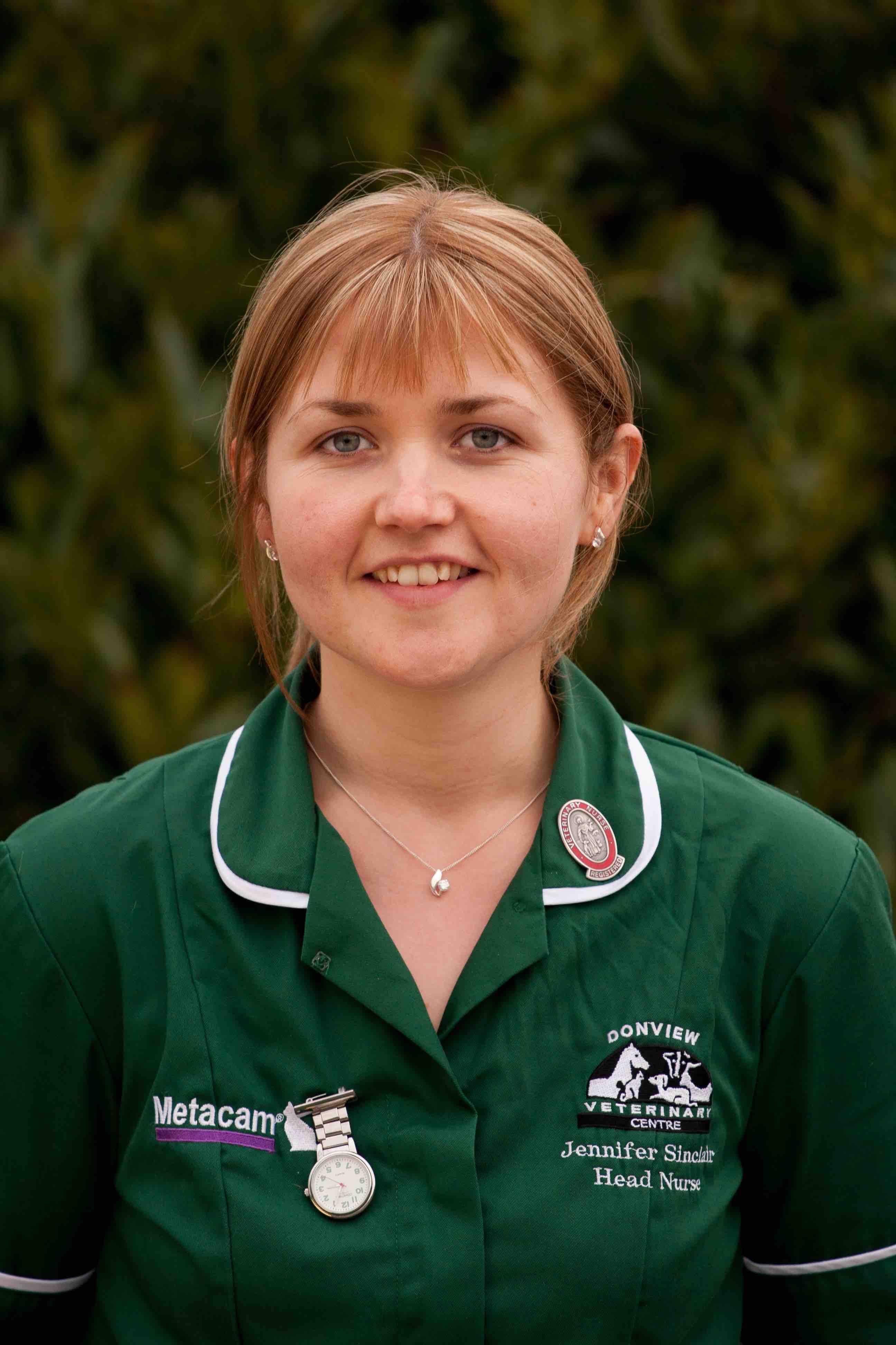 Jennifer O'Connor head nurse
