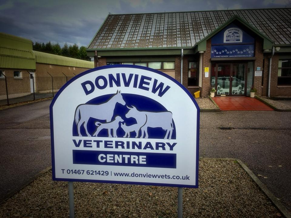 Donview vets, inverurie