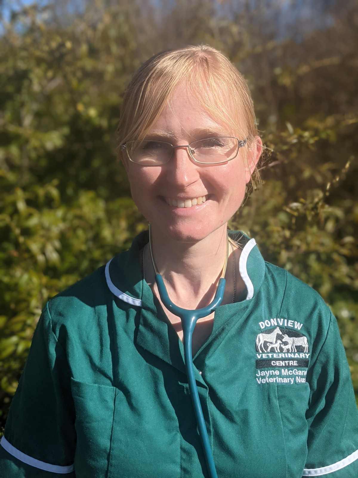 Jayne McGarvie nurse