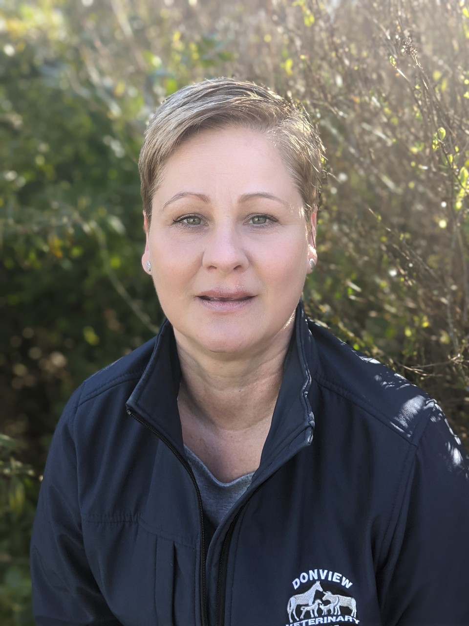 Vicky Mckenzie Kintore receptionist